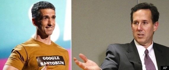 Rick Santorum and Dan Savage