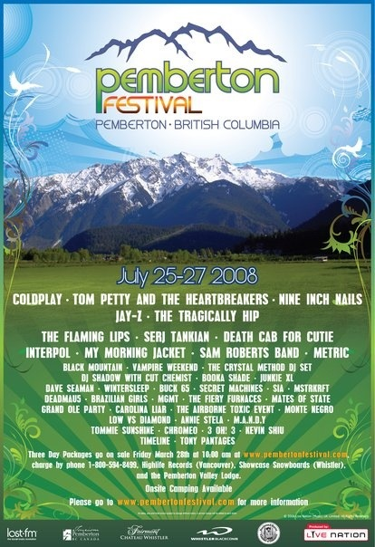 It's Back! Pemberton Music Fest