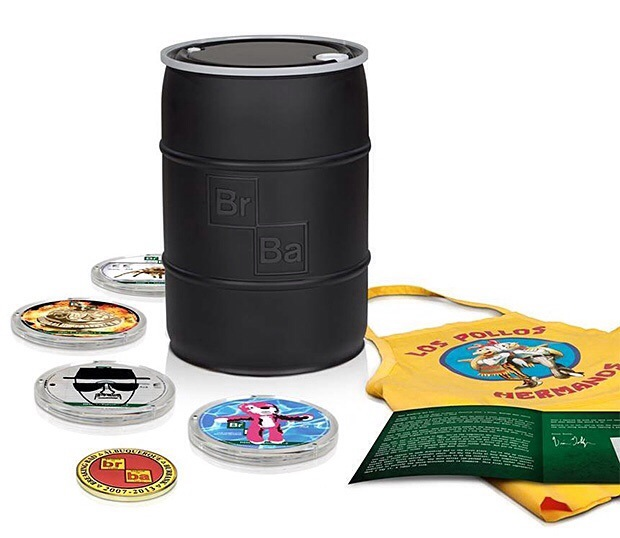 Breaking Bad BluRay Set