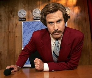 Ron Burgundy for Dodge Durango